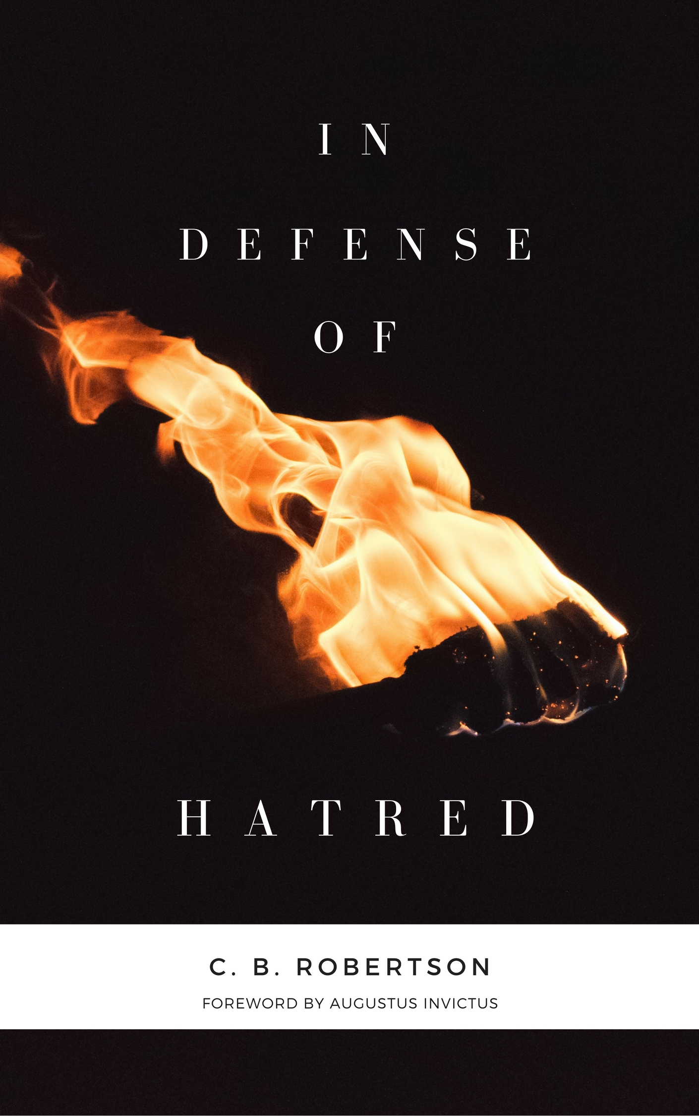 In Defense of Hatred