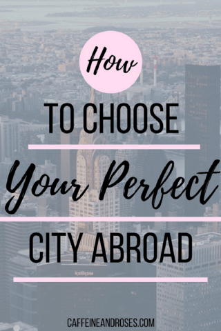 Where do you want to start your new life abroad? What lifestyle do you imagine for yourself? Will your new home be a short or long-term move? Do you plan to explore one country, a few, or a whole region? Being realistic about your needs, wants, and expectations is key. Caffeine and Roses has six of the key items to consider before you buy your one-way tickets to your new home.