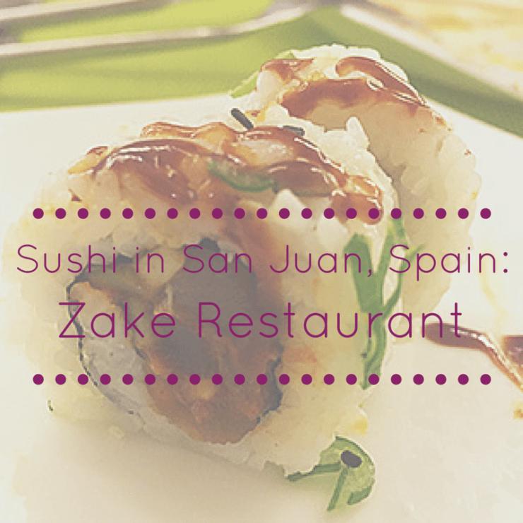 Sushi in Spain