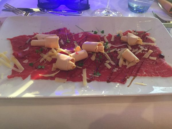 Carpaccio in Noordwijk, The Netherlands
