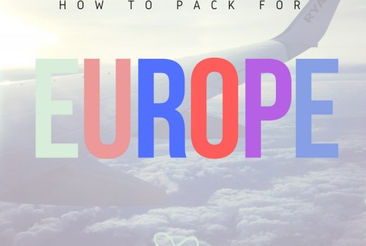 How to pack for Europe, #packing, #travel, #travelblog