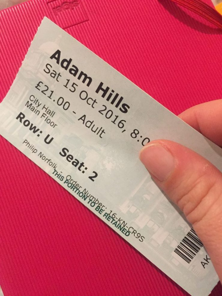 Adam Hills ticket