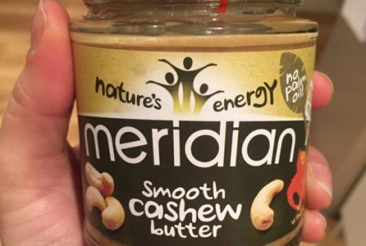 Meridian Smooth Cashew Butter - Paleo option
