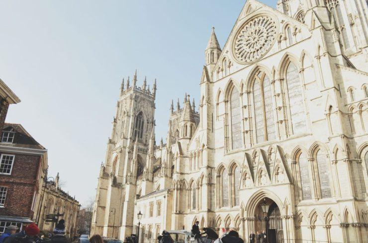 York Minster, Yorkshire, Northern England