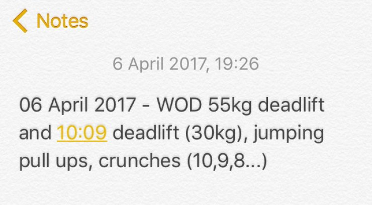 WOD - Crossfit Hull - Workout