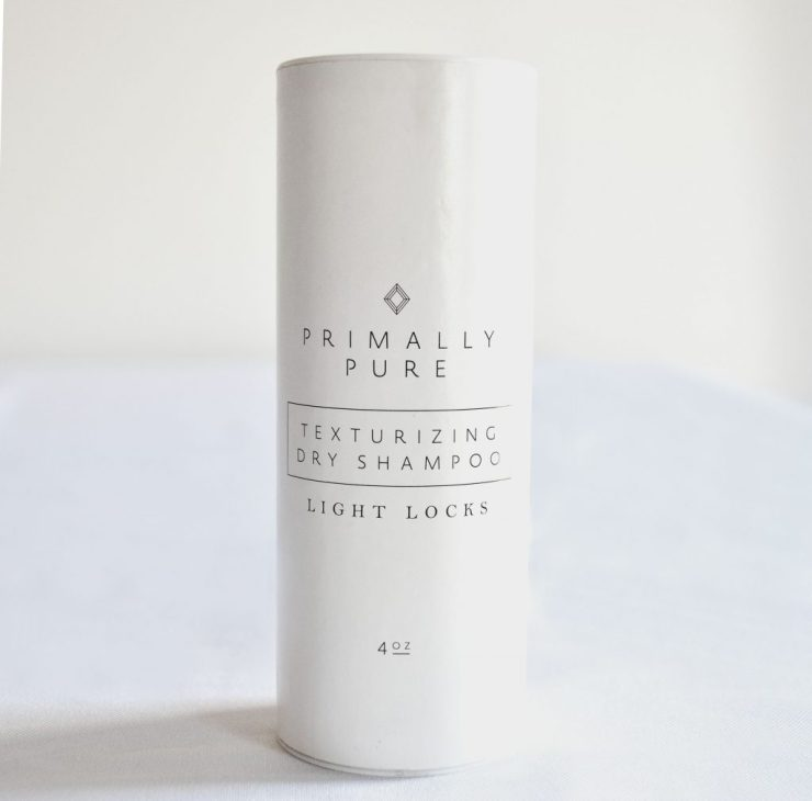 primally pure dry shampoo