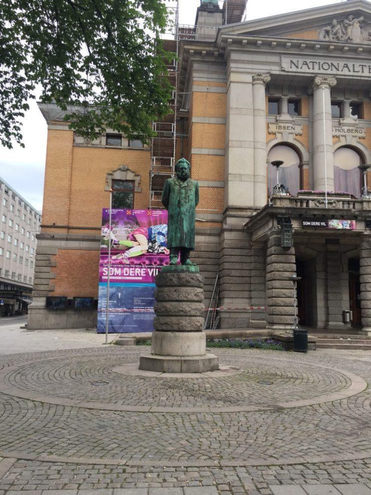 Statues in Oslo
