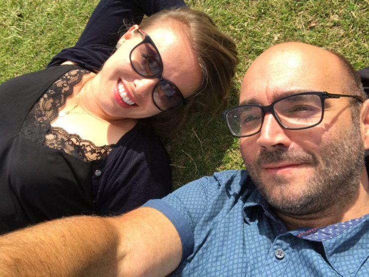 Relaxing in Kensington