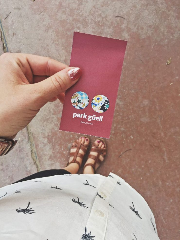 Barcelona - tickets to Parque Guell