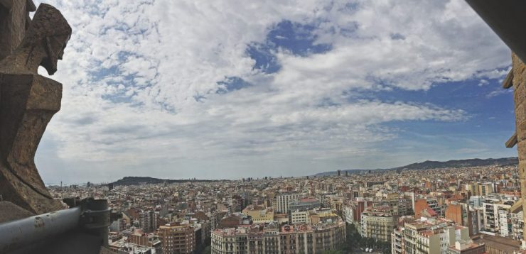 Barcelona - View from the Sagrada Familia