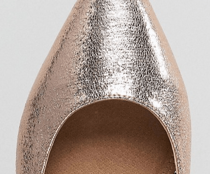 ASOS latch point flats - perfect shoes for the holidays