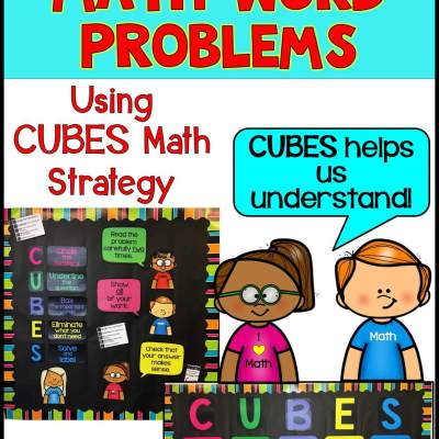 How to Teach Math Word Problems – CUBES Math Strategy