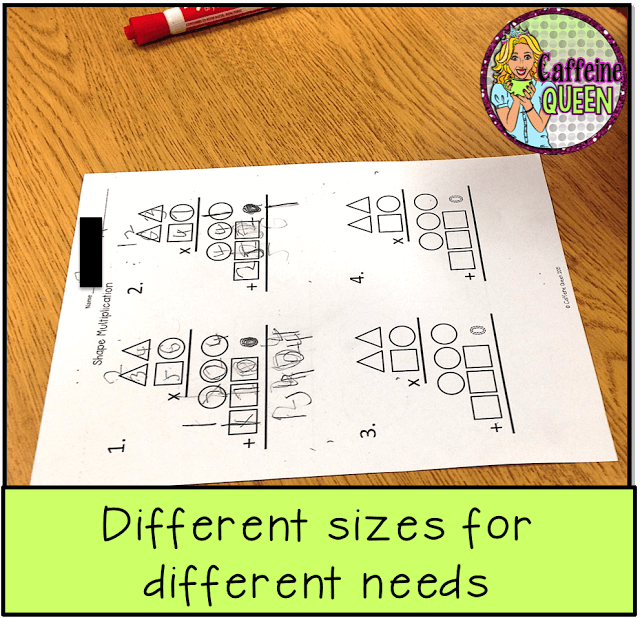 2-digit multiplication organizer offers new strategy for differentiating for students