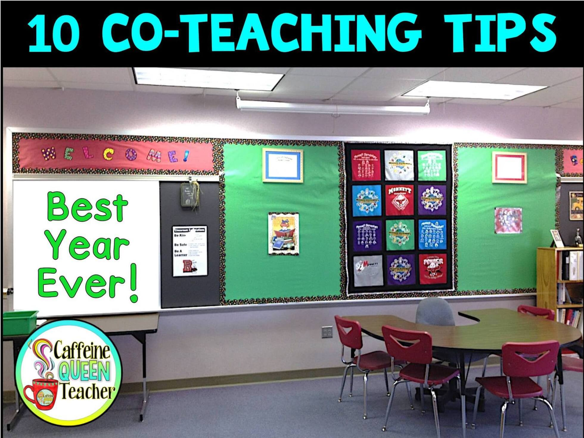 Co-Teaching Tips for the Best Year Ever!