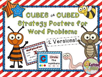 Posters for word problems