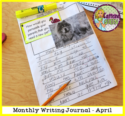 Students become accustomed to writing in paragraph form