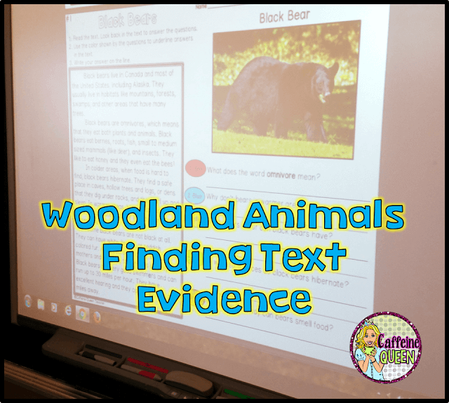 Teach students about text evidence using this kit complete with nonfiction passages, comprehension questions, and graphic organizers