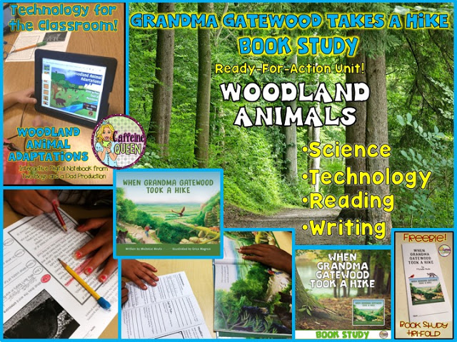 Complete Teaching unit for When Grandma Gatewood Took A Hike Book Study