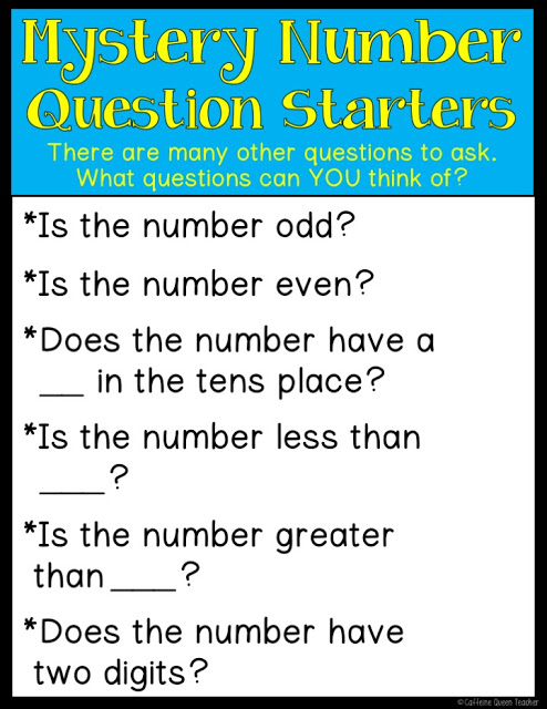 Easy to play Mystery Number game! FREE!