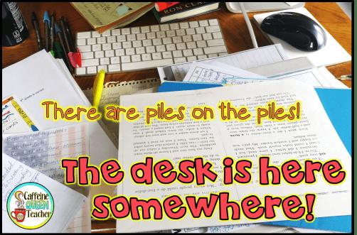 cluttered teacher desks are inefficient
