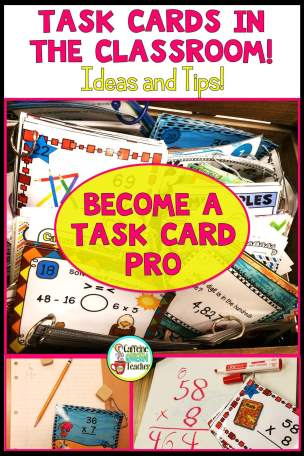 Tons of ideas and tips for using task cards in the classroom - perfect for busy teachers