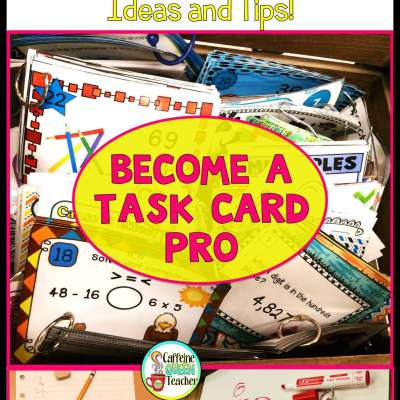 Become a Teacher Task Card Pro