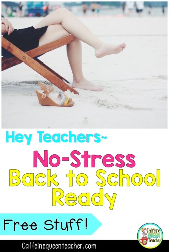 No Stress New School Year Prep for Teachers During Summer