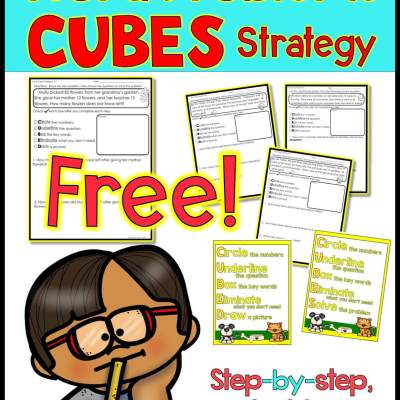 CUBES addition and subtraction worksheets