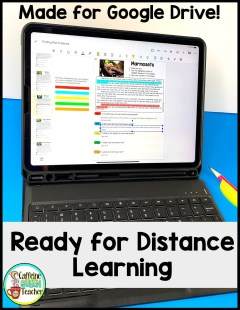 reading comprehension passages for digital learning