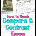 Teaching students how to write compare and contrast essays