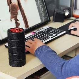Stainless Steel Tyre Mug With Lid, New Fantastic Travel Coffee Mug