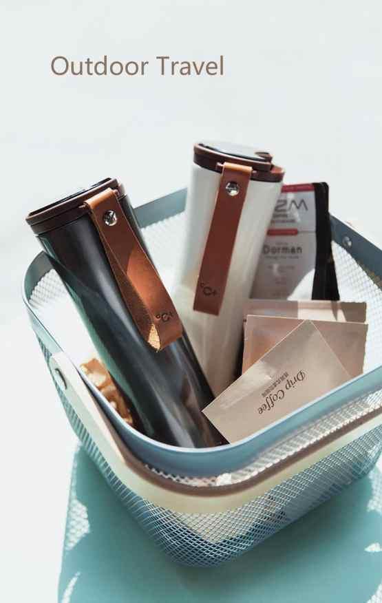 Travel Mug Moka Smart Coffee Tumbler Vacuum Insulation Bottle Touch Temperature Display