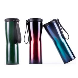 Travel Mug Moka Smart Coffee Tumbler Vacuum Insulation Bottle Touch Temperature Display