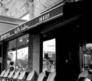 First of Ladro Cafes: Upper Cafe Ladro Exterior
