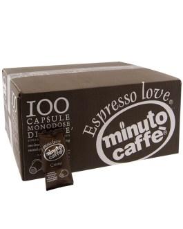 Minuto nespresso crema 100cps