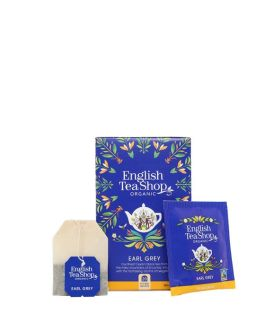 Earl Grey – Tè Nero Biologico al Bergamotto – 20 bustine di Tè (45 Gr)