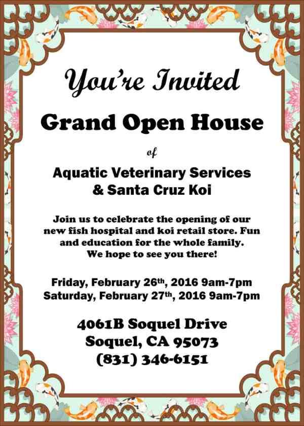 Open House Invite Revised