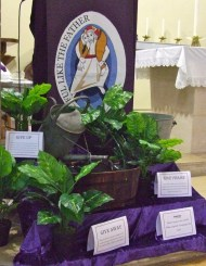 Lent 2016 display