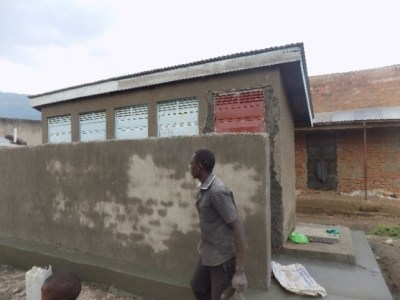 Rehabilitation of a latrine in Busulani sub-county, Sironko
