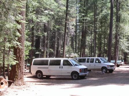 Camp vans.