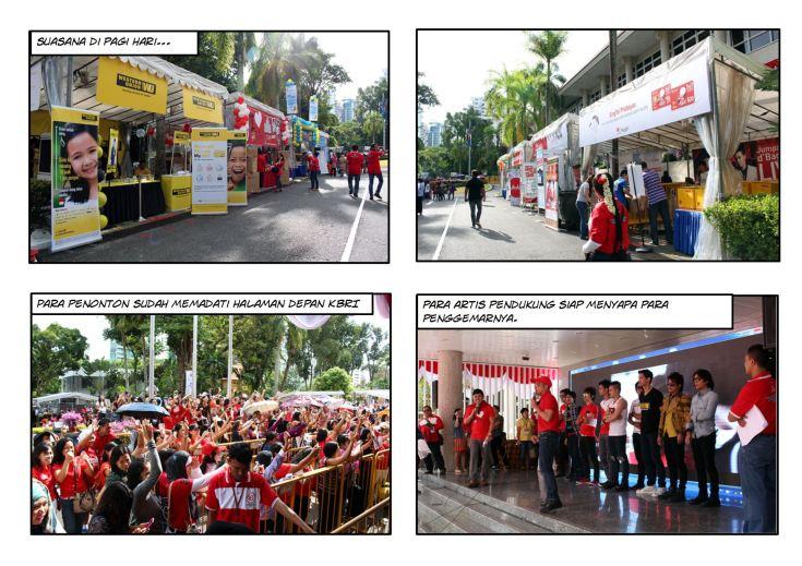 Suasana Pagi Panggung Gembira 2013