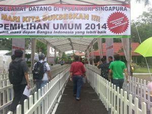 Jalur untuk Pemilih di Singapura