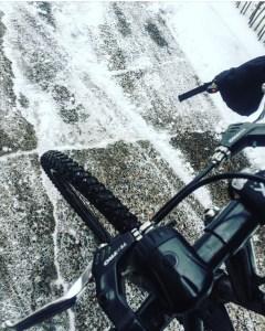 winter cycling, winter biking, winter, cyclist