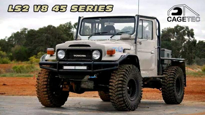 V8 45/80 Landcruiser Video
