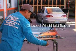 chipped windshield repair installation las vegas