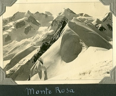 Monte Rosa, 1933