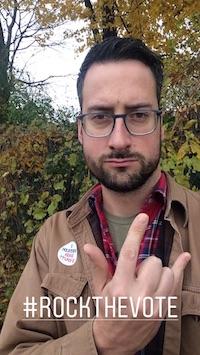 Matthew Landrum rock the vote.jpg