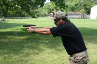 G19 in action during the Ohio tactical clinic