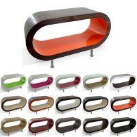 MADE in UK: XXL Retro Lounge TV-Tisch LEO 110cm mit Füßen in 24389 Farbkombinationen!