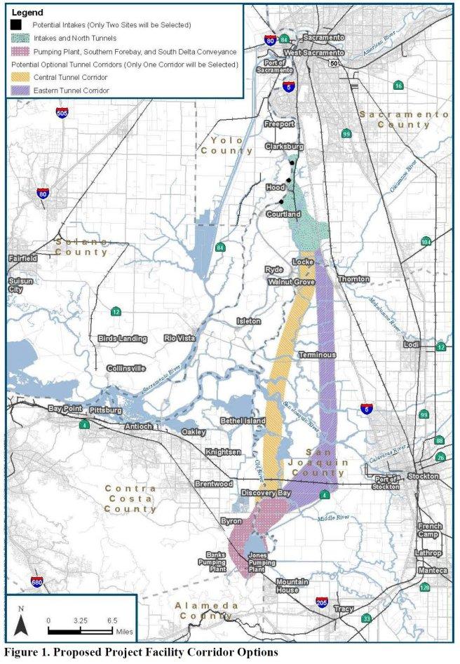 Single tunnel NOP map